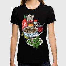 Pho-tastic! Black Womens Fitted Tee SMALL