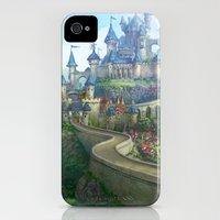 epic fantasy castle  Slim Case iPhone (4, 4s)
