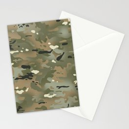 Camouflage: Jungle Colors III Stationery Cards