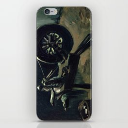 1885-Vincent van Gogh-Bobbin winder-34x44,3 iPhone Skin