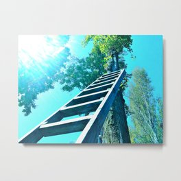 She's Buying A Stairway To Heaven Metal Print