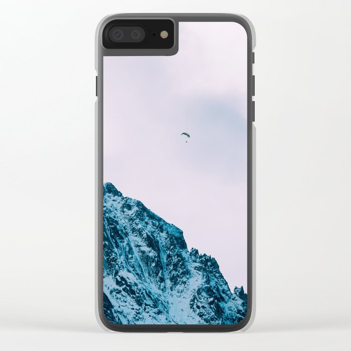 Mountain man Clear iPhone Case