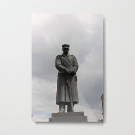 Marshal Jozef Pilsudski Monument Metal Print