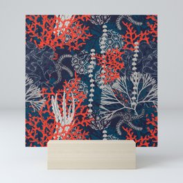 Corals and Starfish Mini Art Print