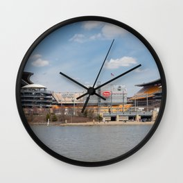 Heinz Field, Pittsburgh, Pennsylvania Wall Clock