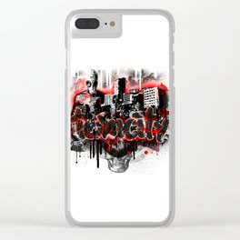 Toxicity Clear iPhone Case