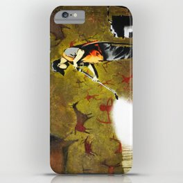 Banksy, Cave Paintings iPhone Case