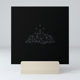 The Night Court insignia from A Court of Frost and Starlight Mini Art Print