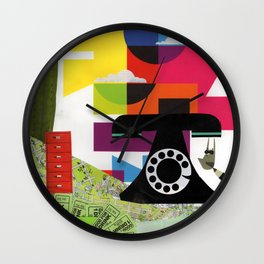 Without a Drop of Rum Wall Clock