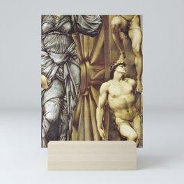 12,000pixel-500dpi - Edward Burne-Jones  - The Wheel of Fortune - Digital Remastered Edition Mini Art Print