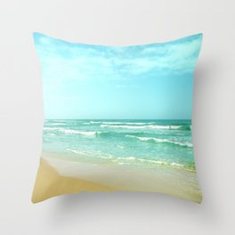 Vintage summer Throw Pillow