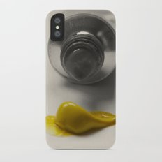 Painting Yellow #2 (Filtered) iPhone X Slim Case