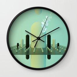 MARIO MOUNTAINS Wall Clock