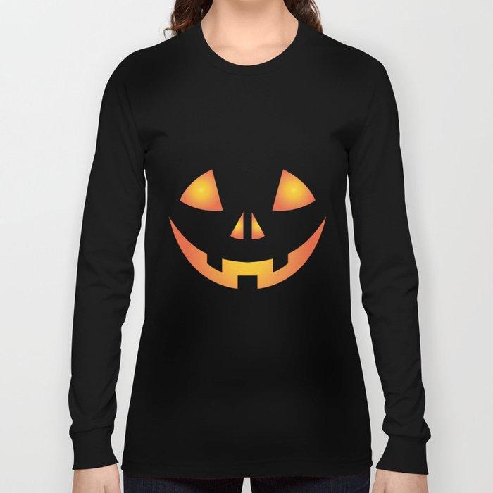 0f717d6d45a Pumpkin Halloween Costume T-Shirt for Men Women Long Sleeve T-shirt ...
