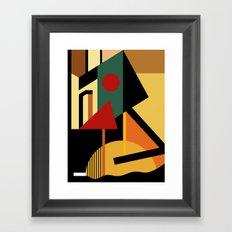 THE GEOMETRIST Framed Art Print