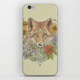 Fox Garden iPhone Skin