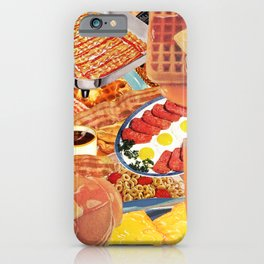 The Most Important Meal iPhone Case