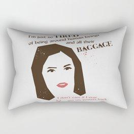 Baggage Rectangular Pillow