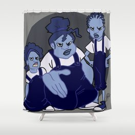 The Gross Sisters Shower Curtain