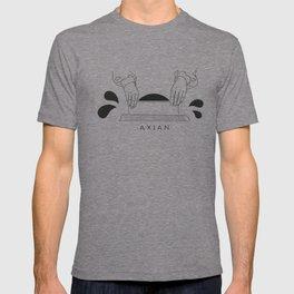 "Axian ""vinyl digging"" T-shirt"