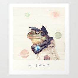 Star Team - Slippy Art Print