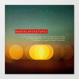 Twitterpatted  Canvas Print