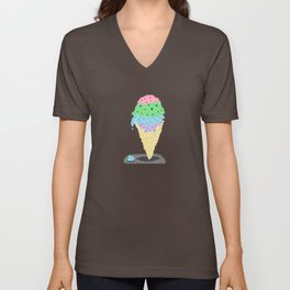 Ice Cream Unisex V-Neck