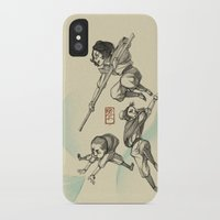 airbender iPhone & iPod Cases featuring Airbender Kids by OliLai
