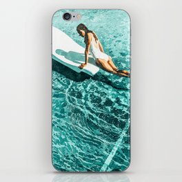 Pool Day #society6 #painting #summer iPhone Skin