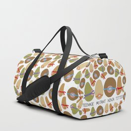 Ninja Boobs Duffle Bag