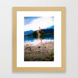 Lake Bled Framed Art Print