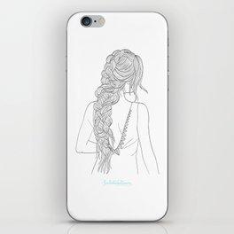 BRAIDGIRLONE iPhone Skin