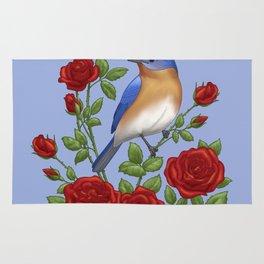 New York State Bird and Flower Rug