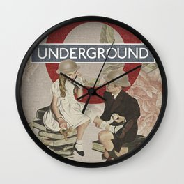 The Underground Wall Clock