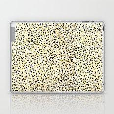 Salna - gold foil modern black and gold gender neutral art abstract design decor minimal trendy urba Laptop & iPad Skin