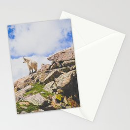 Goat Series, I Stationery Cards