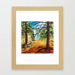 Woodland Beauty Framed Art Print