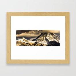 Ranrapalca Cloud Crown Framed Art Print