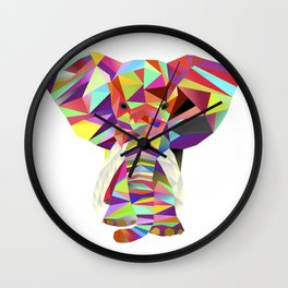 Emil Elephant Wall Clock
