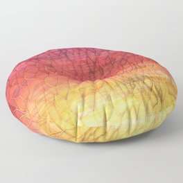 Desert Sunset Pattern Floor Pillow