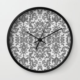 Imperial French Lace Wall Clock