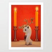 Little Rudi. Art Print