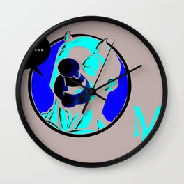 mr. magoo the man without fear Wall Clock