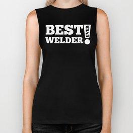 Best Welder Ever Biker Tank