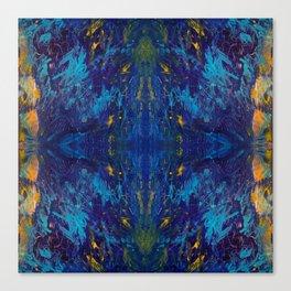 Moses Blue Canvas Print