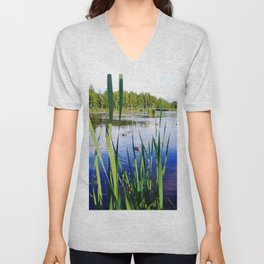 Duck Pond Unisex V-Neck