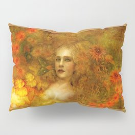 """Ofelita de Oro"" (From ""Death, Life, Hope"") Pillow Sham"