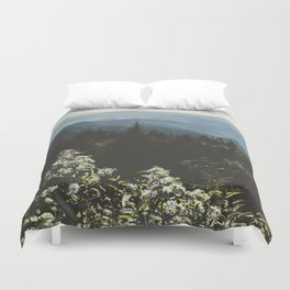 Smoky Mountains - Nature Photography Duvet Cover