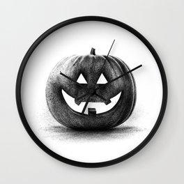 Halloween graffiti Wall Clock
