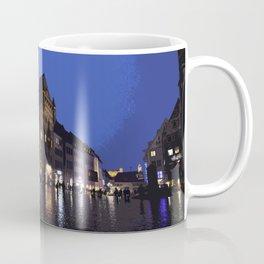 Rainy night in Nuremberg Coffee Mug